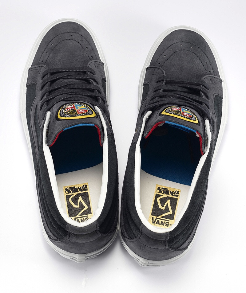 """615d6174e1948b Vans Syndicate x 8Five2 – Sk8-Mid """"S""""   Old Skool """"S"""" (Available Now ..."""