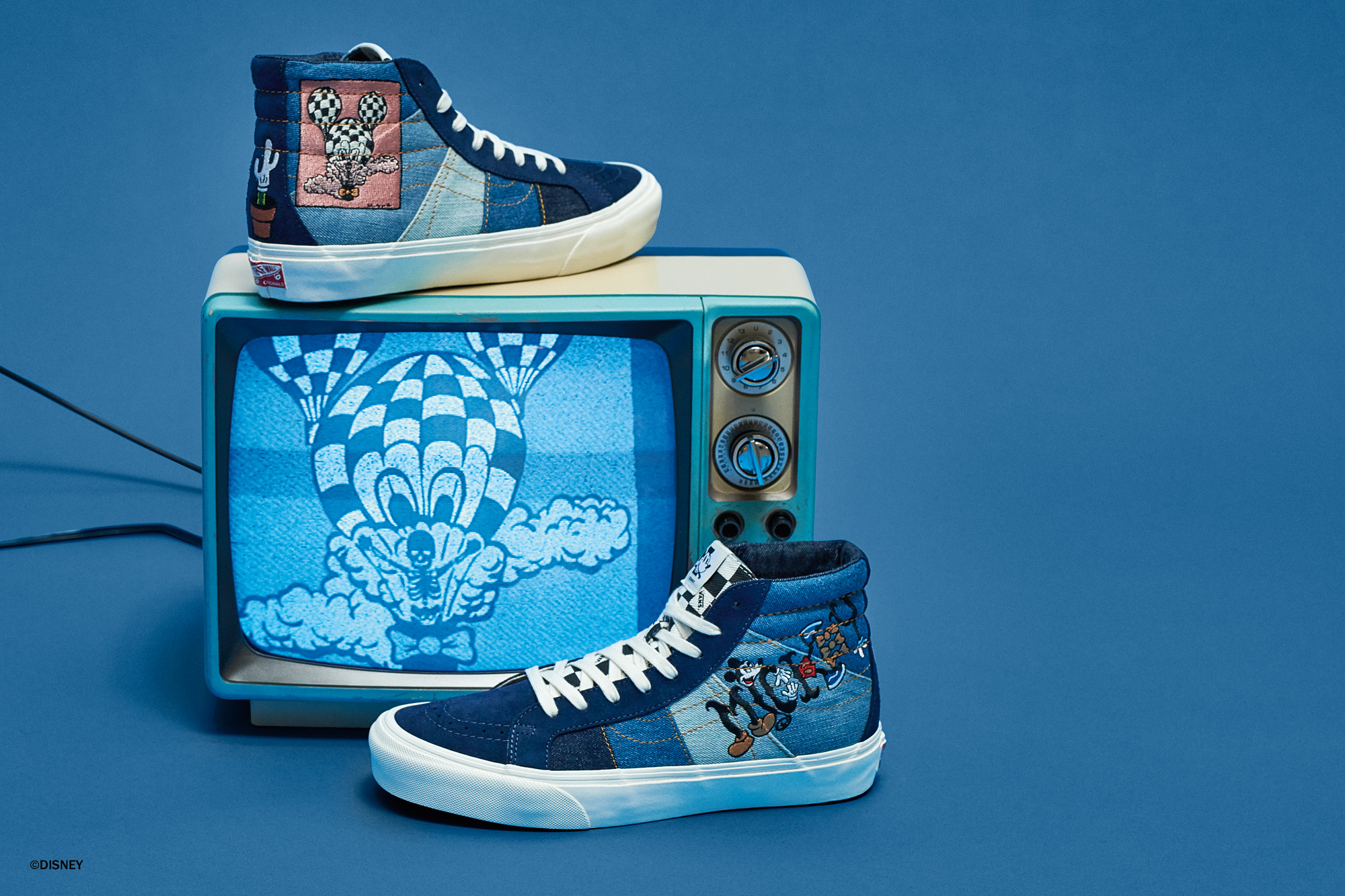 """274584d8ad Vault by Vans x Disney – Mickey Mouse 90th Anniversary """"True ..."""