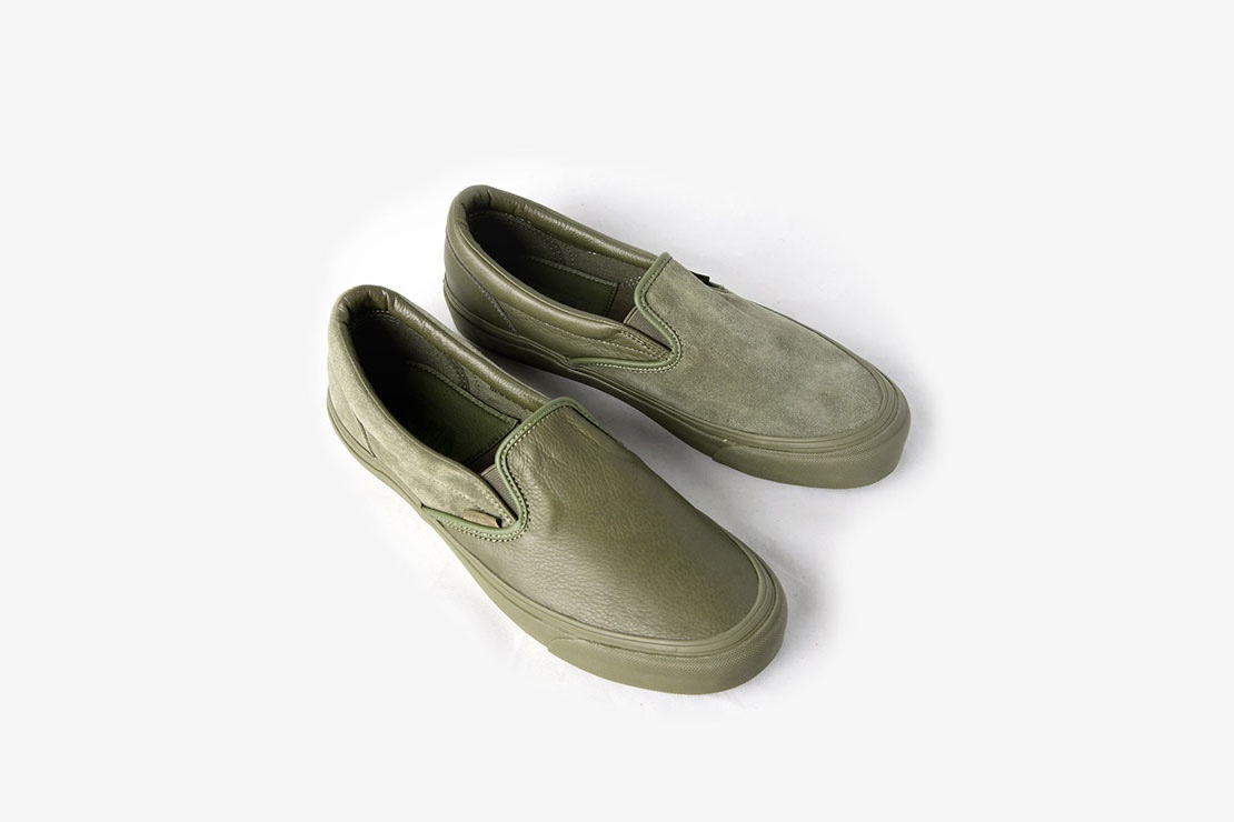 c402d6db58f6 Vans Vault x Engineered Garments – OG Classic Slip-On LX (Sold Out)