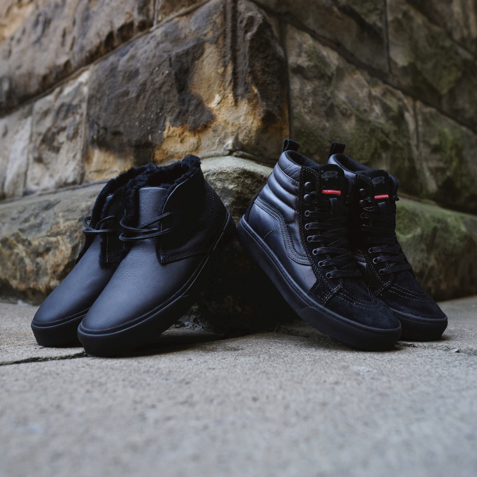 83d679c6c Vans Vault x The North Face – Sk8-Hi MTE LX (exclusive pics by ...